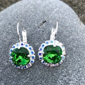 Jewelry - Handcrafted earrings with Swarovski crystal #95