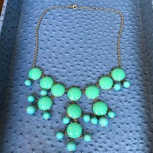 J. Crew Jewelry - J.Crew Turquoise Beaded Necklace