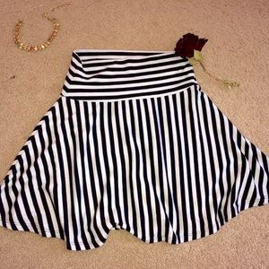 Forever 21 Dresses & Skirts - Forever 21  striped skirt