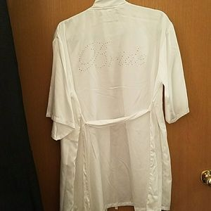 Other - Silky bridal robe