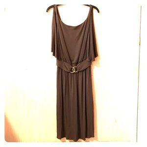 Milly Dresses & Skirts - Milly Sleeveless Dress w/ metal bamboo detail Sz S