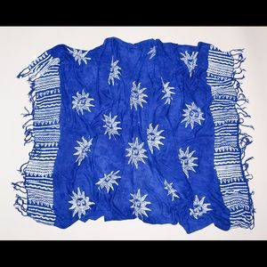 Koko Knot Other - New Koko Knot Beach Shawl Wrap Cover-Up Sun Print