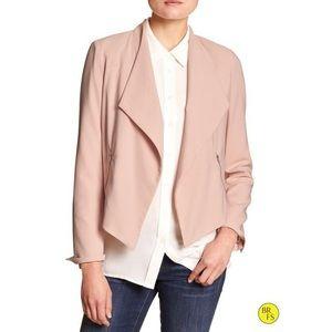 Banana Republic Pink Blush Moto Blazer size 2