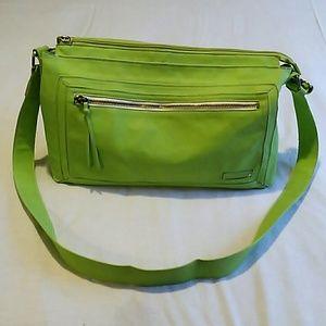 Sisley Handbags - Sisley green purse