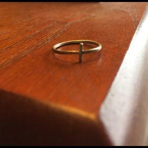 Dogeared Jewelry - Dogeared Cross Ring