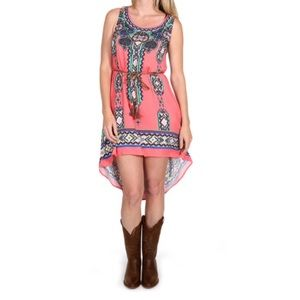 ➕Shyanne Aztec Print Dress XL
