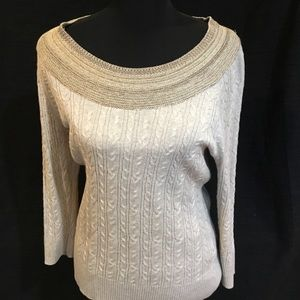 Jaclyn Smith Sweaters - Jaclyn Smith Ribbed Sweater