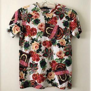 Joyrich Tops - JOYRICH Floral 100% Cotton T-shirt