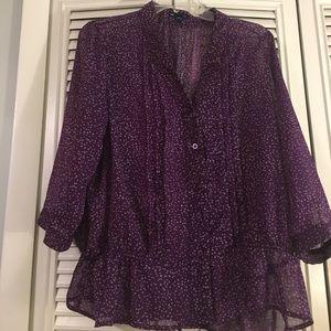 Gap button up blouse