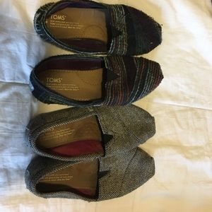 TOMS Shoes - Lot of 2 Pairs of TOMS