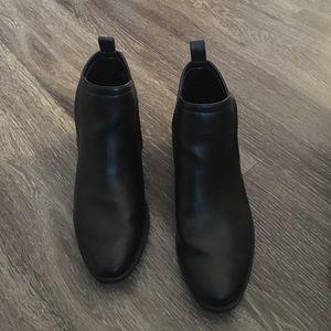 Merona Shoes - Black Booties