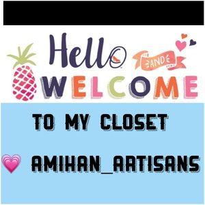 Hi! Welcome to my closet!
