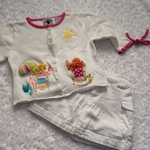 Hartstrings Other - Harstrings gurls 4t 2 pc outfit