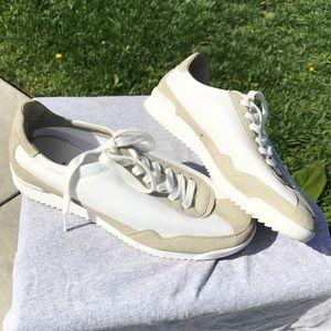 Zara collection tennis shoes white