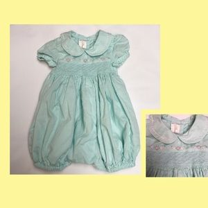 Other - Baby girl 6 months smocked romper 1-piece 💐