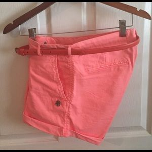 maison scotch Pants - Maison Scotch neon shorts sz 27.