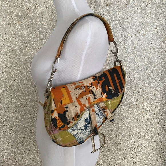 Christian Dior Bags   Sold Limited Edition Saddle Bag   Poshmark d23edde9a6