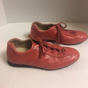Hogan Shoes - Hogan pink leather sneakers