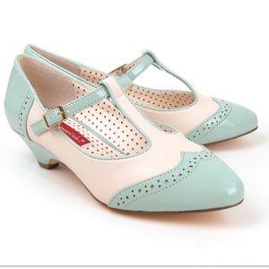 But another innocent tale (BAIT)  Shoes - BAIT Low Heel T-Strap Pump