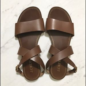 J. Crew Shoes - Jcrew leather made in Italy sandal