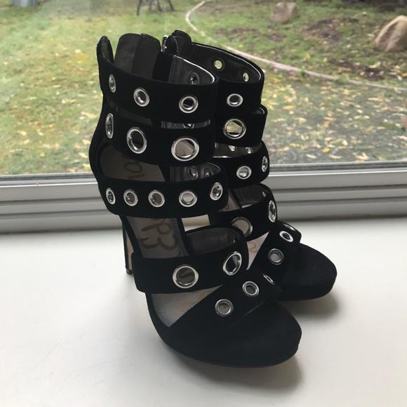 Sam Edelman heels with grommets