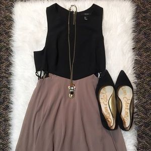Forever 21 Dresses & Skirts - DONATING SOON- Black and Brown High Low Dress