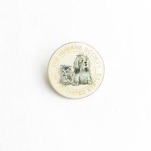 Vintage Accessories - Vintage Humane Society Enamel Pin