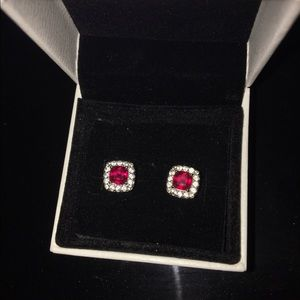 Jewelry - Ruby stud earrings
