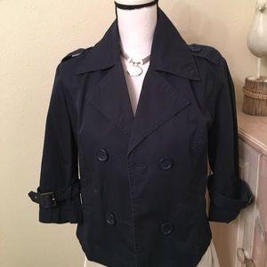 Copper Key Jackets & Blazers - Copper Key short trench jacket