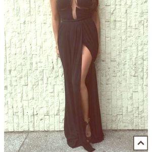Black Golnesa skirt