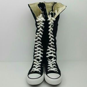 Converse Other - CONVERSE Unisex Knee High Black & White