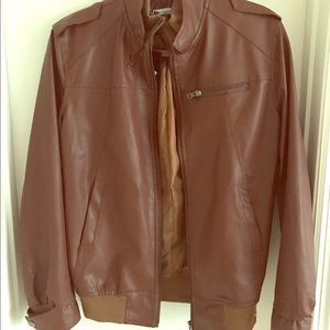 European Culture Other - Faux leather jacket. New.