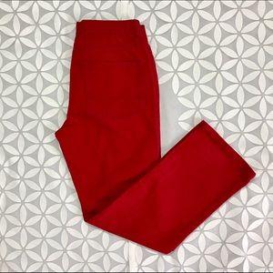 Arizona Jean Company Denim - (5) NWT Arizona Jean Co Red Pant