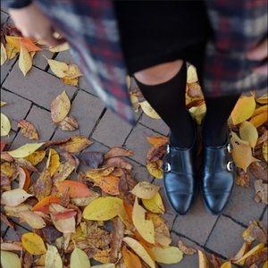 Marc Fisher Shoes - Monk Strap Boyfriend Leather Oxfords