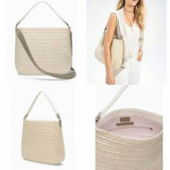 39aab94ac9 🆕Stella Dot Ellie Hobo summer bag. M 58d8609afbf6f91e8602a33b