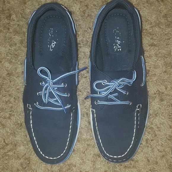 Kids Royal Blue Boat Shoes