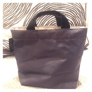 Herve Chapelier Handbags - Two toned grey Herve Chapelier mini tote bag