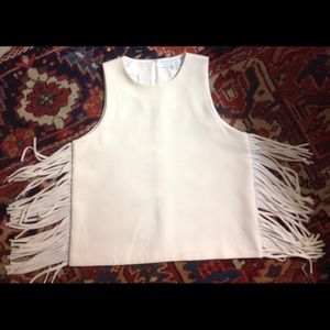 English Factory Tops - English Factory side fringe top - size M NWOT ⭐️