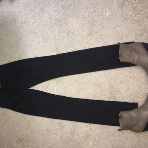 American Apparel Denim - American Apparel jet black jeans