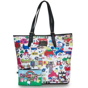 Sanrio Handbags - Hello Sanrio Large Tote Bag