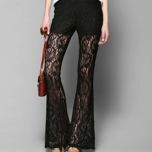 Staring at Stars Pants - HP 🌺🌸🌺 Urban Outfitters lace flare pants
