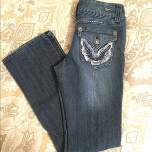 Candies size 7 boot cut jeans