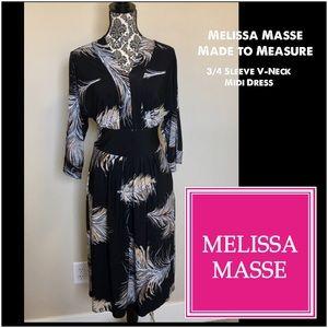 Melissa Masse Dresses & Skirts - Price Dropped✨NWT Melissa Masse 3/4 Sleeve Dress✨