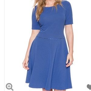 Eloquii Dresses & Skirts - Striped Fit and Flare