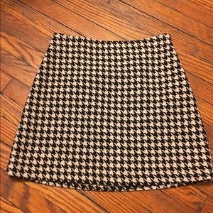 The Limited Dresses & Skirts - Houndstooth wool mini skirt The Limited