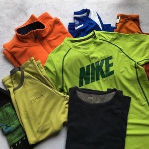 SEVEN Top Bundle Nike, Columbia & More - Boys L/XL