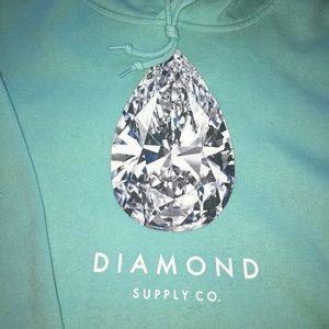Diamond Supply Co. Tops - Diamond Supply Co hoodie