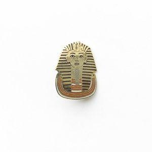 Vintage Accessories - Vintage Egyptian Enamel Pin