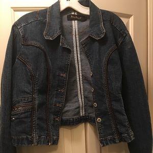 Ashley Stewart Jackets & Blazers - Plus Size Denim Jacket