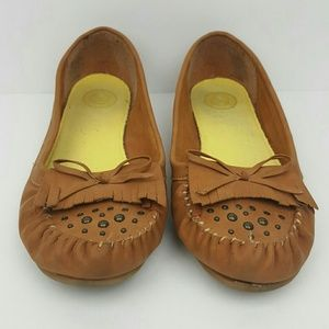 SO Shoes - Tan Moccasins by SO size 7.5